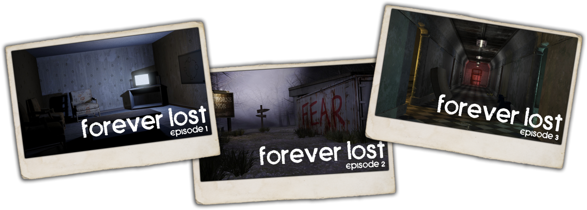 Forever Lost trilogy now on Steam!