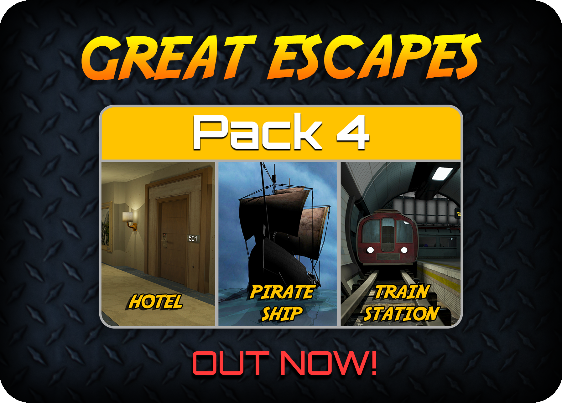 New Pack For Great Escapes!